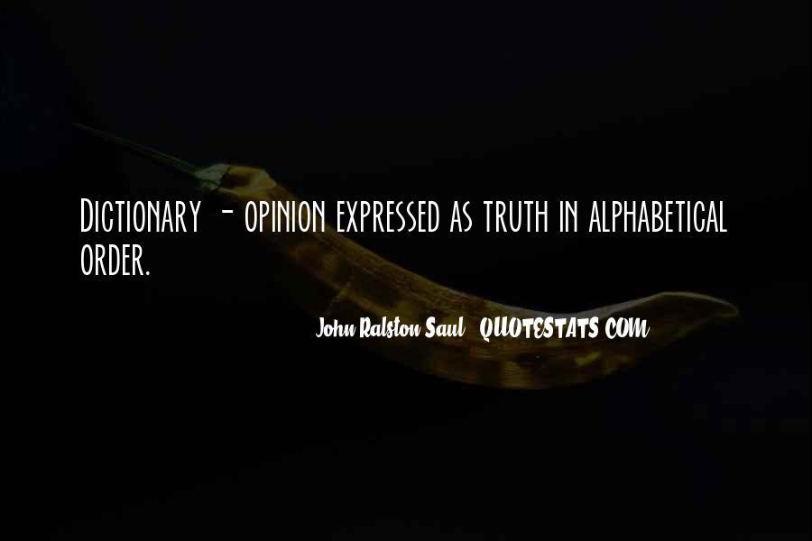 Alphabetical Quotes #1615436