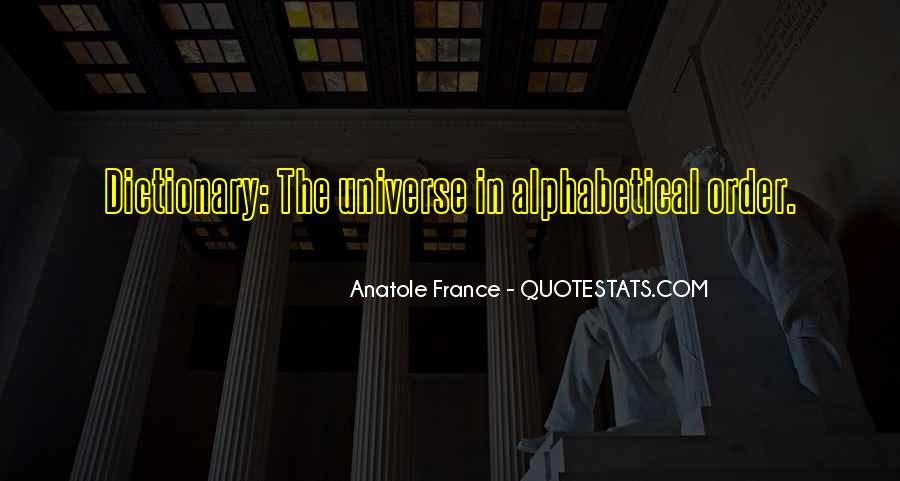 Alphabetical Quotes #1765801