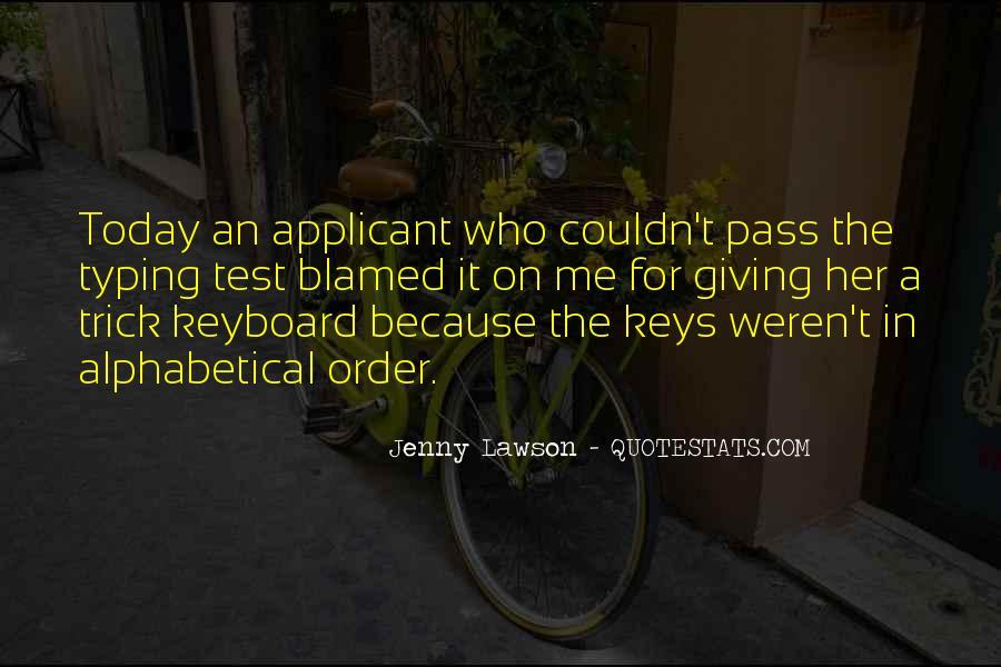 Alphabetical Quotes #779013