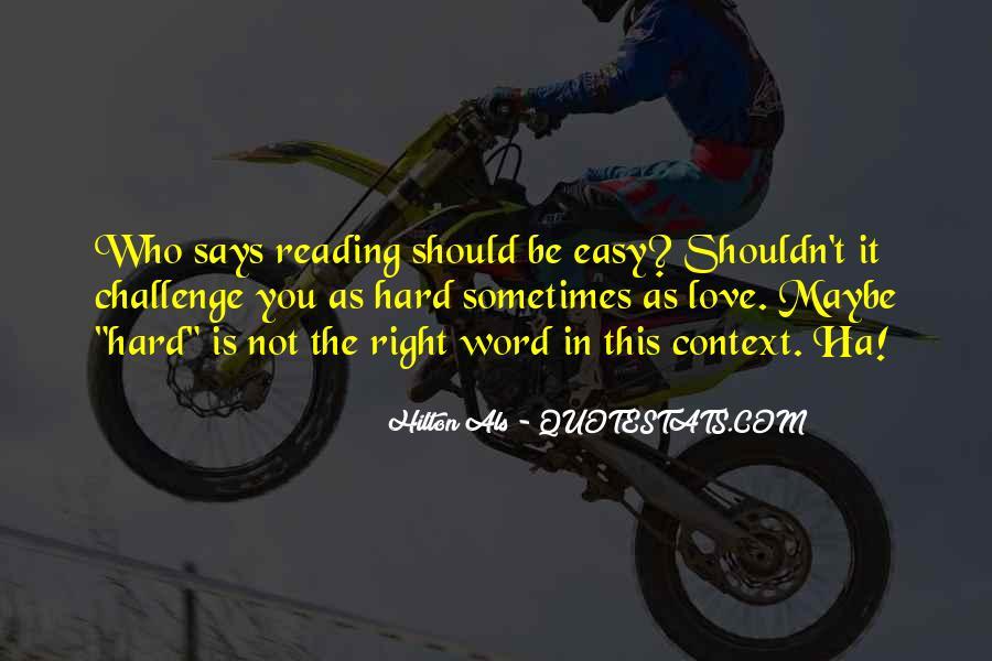 Als Challenge Quotes #1018349