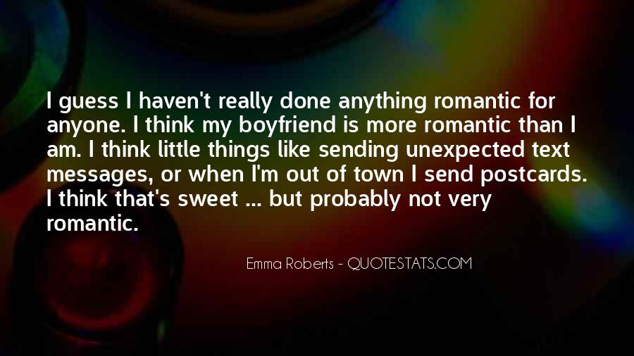 Quotes About My Sweet Boyfriend #1230165