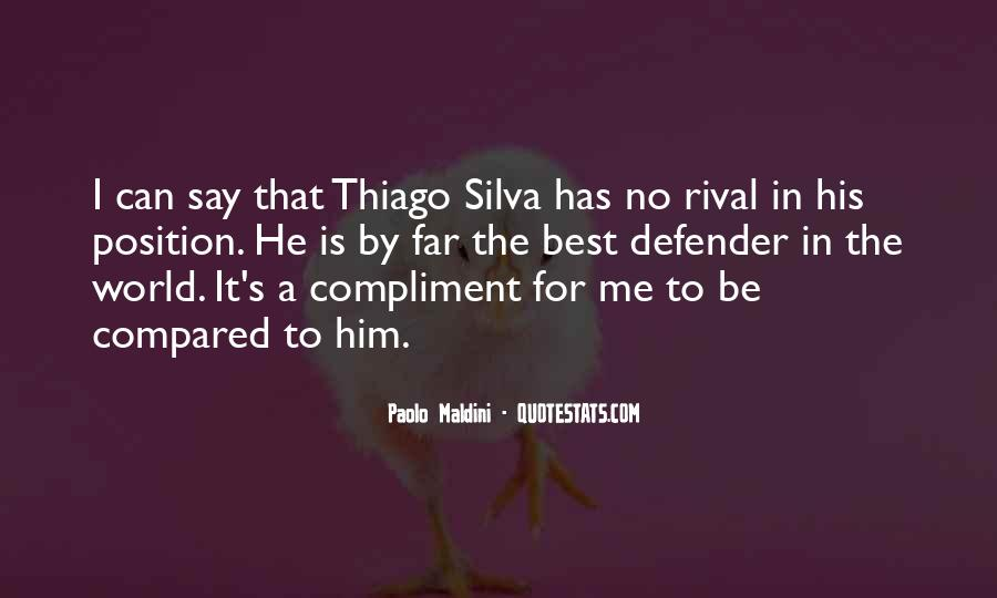 Quotes About Thiago #1860005
