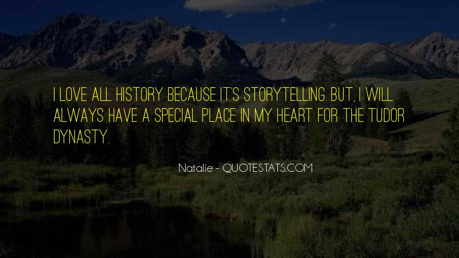 Quotes About My Special Place #1055163