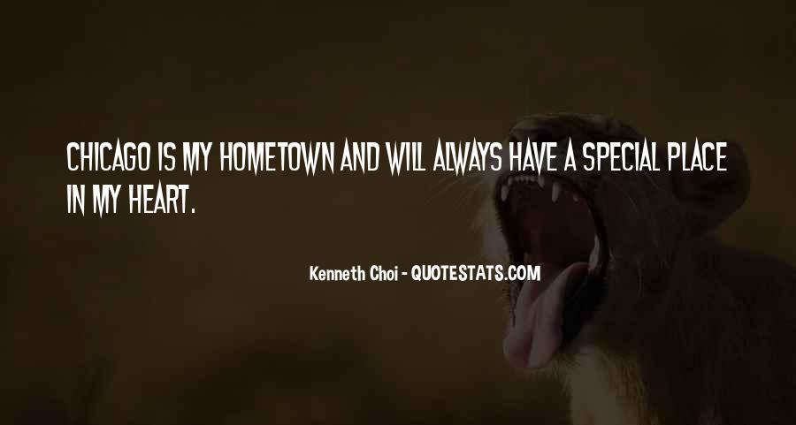 Quotes About My Special Place #1519370