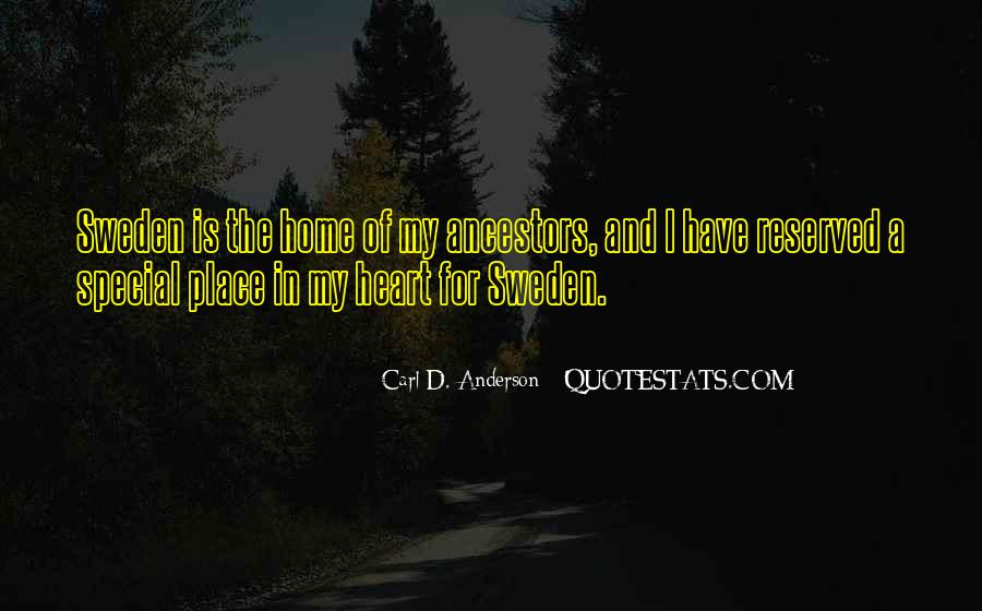 Quotes About My Special Place #1859917