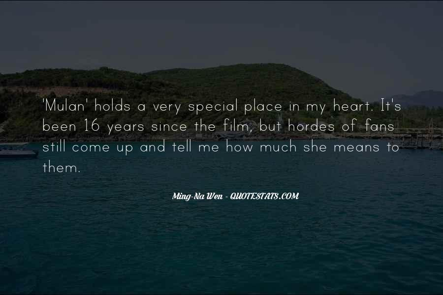 Quotes About My Special Place #210322