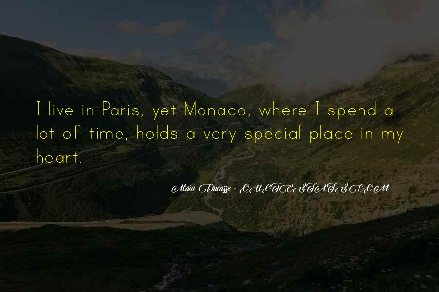 Quotes About My Special Place #210897