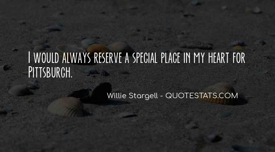 Quotes About My Special Place #427548