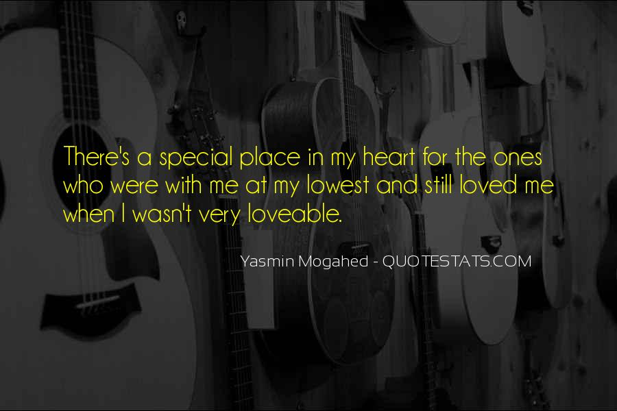 Quotes About My Special Place #476873
