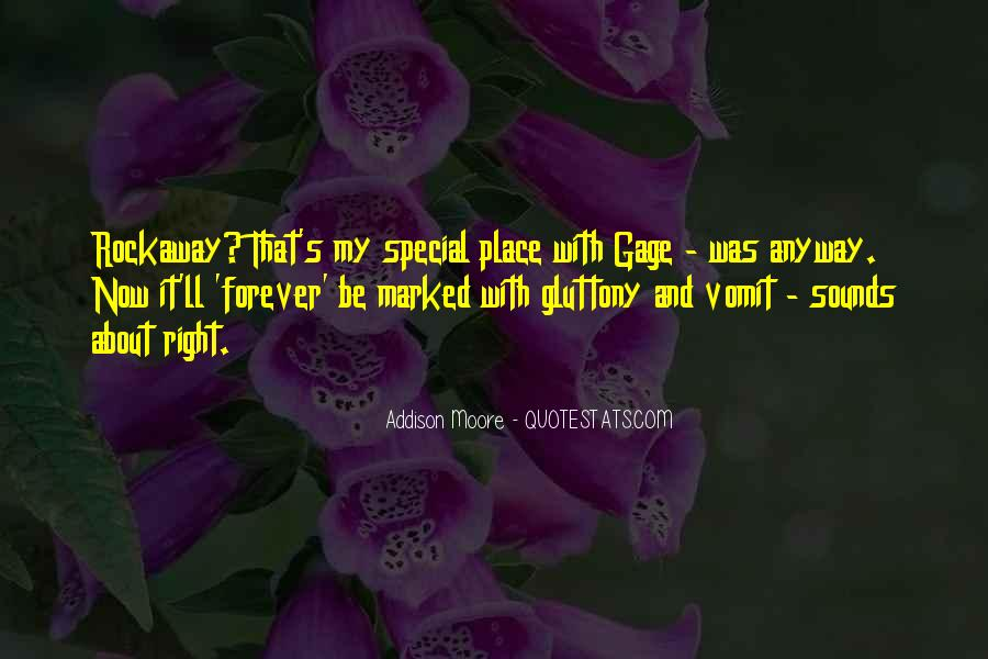 Quotes About My Special Place #805365