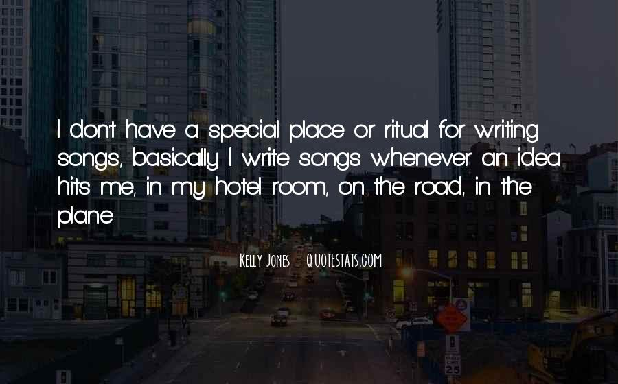 Quotes About My Special Place #949842