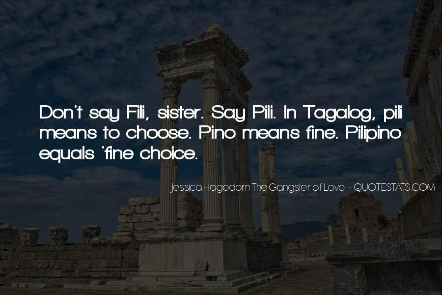 Quotes About My Sister Tagalog #1332718