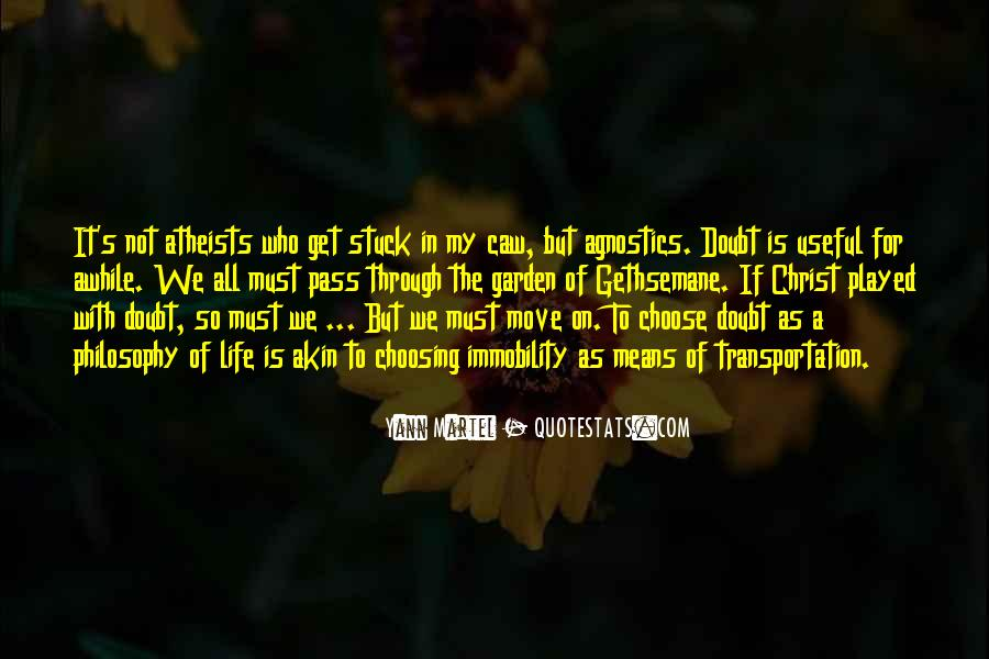 Quotes About My Philosophy Of Life #672093