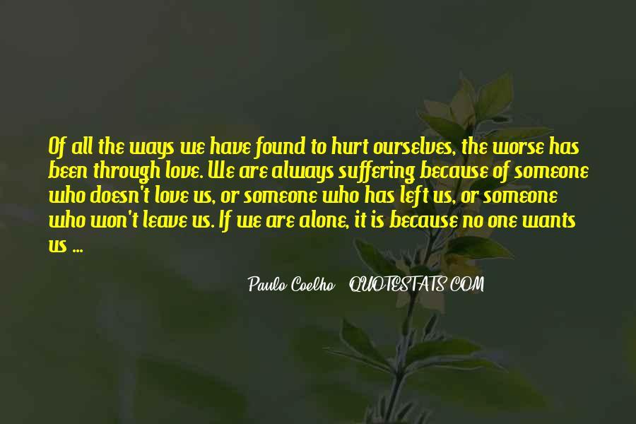 Always Been Hurt Quotes #1324017