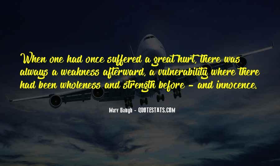 Always Been Hurt Quotes #1512357