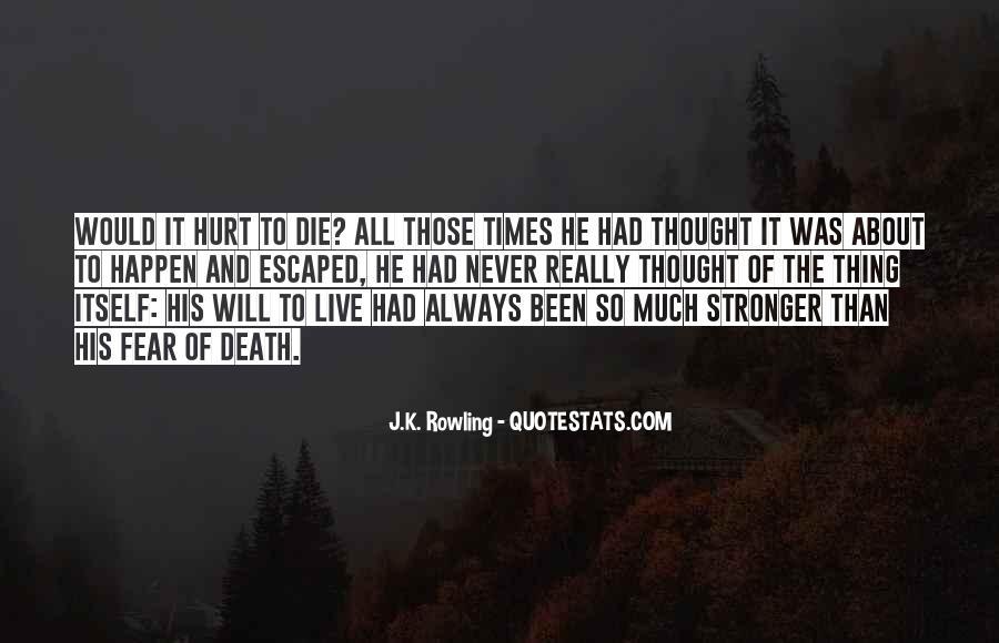 Always Been Hurt Quotes #1653530