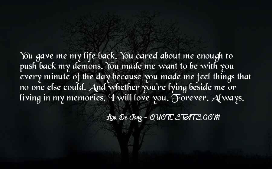 Always Beside You Quotes #924671