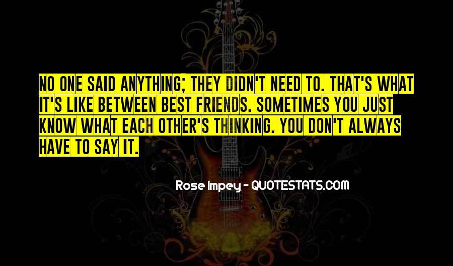 Always Best Friends Quotes #519787