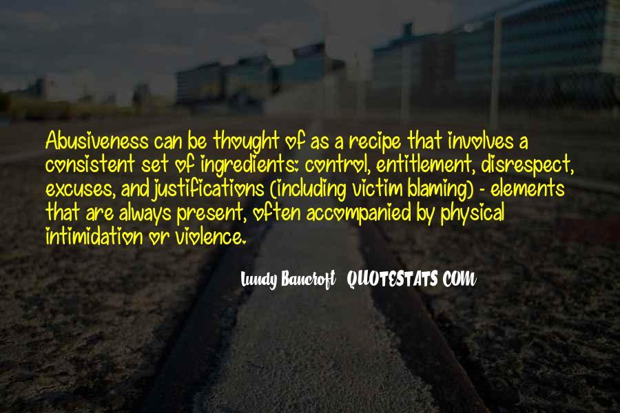 Always Blaming Me Quotes #642851