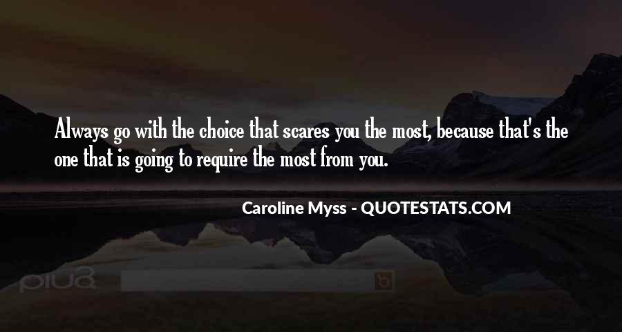 Always Do What Scares You Quotes #1695898