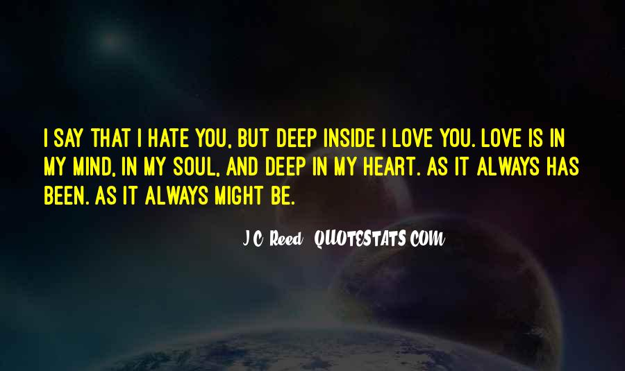 Always In My Heart Love Quotes #1557642