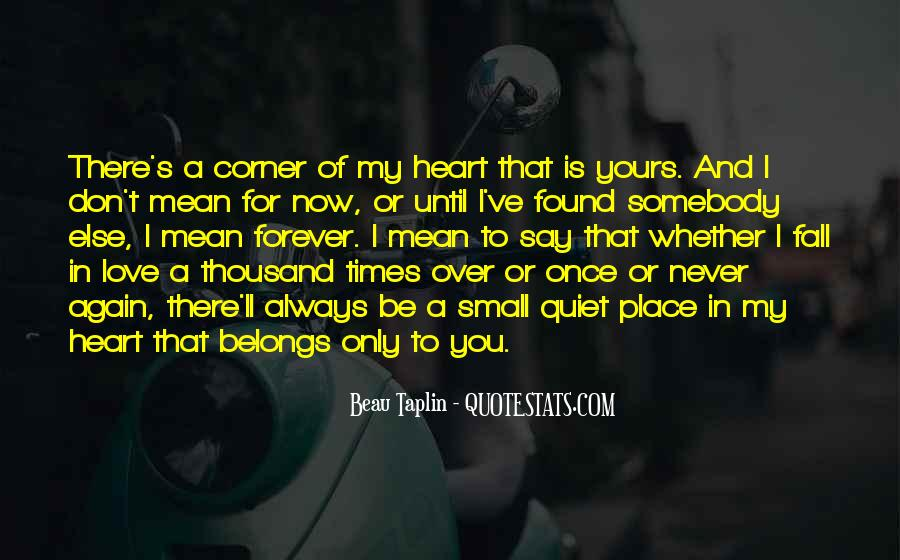 Always In My Heart Love Quotes #642590