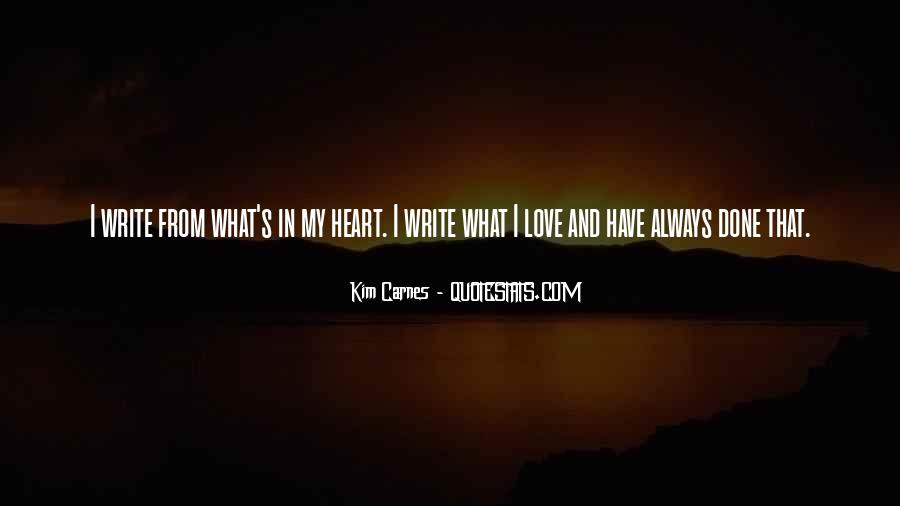 Always In My Heart Love Quotes #741535