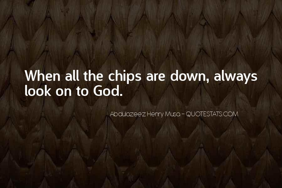 Always Look Down Quotes #195873
