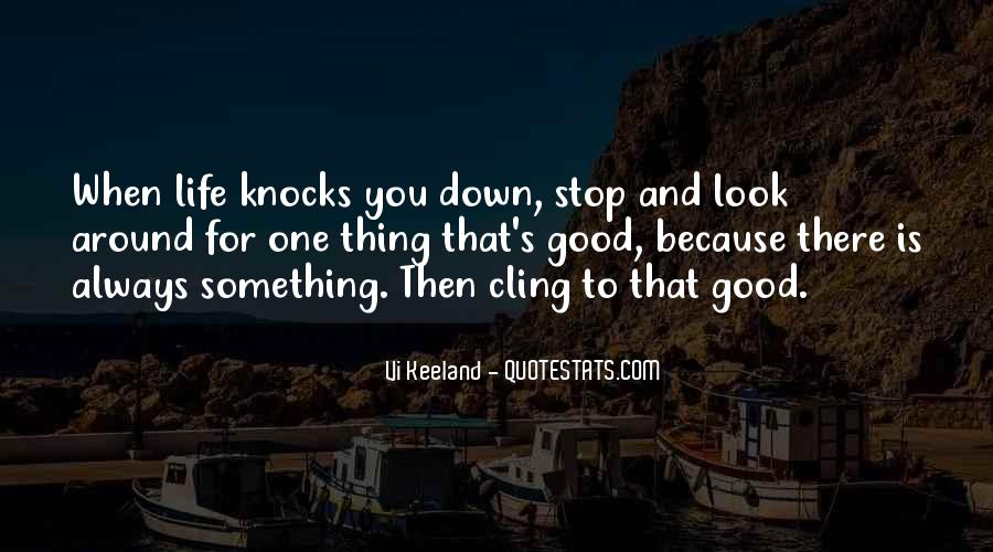 Always Look Down Quotes #399401
