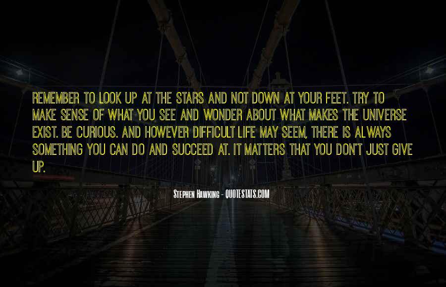 Always Look Down Quotes #79314