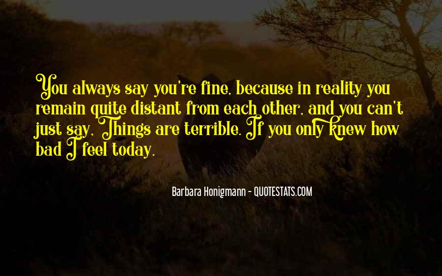 Always Only You Quotes #28951