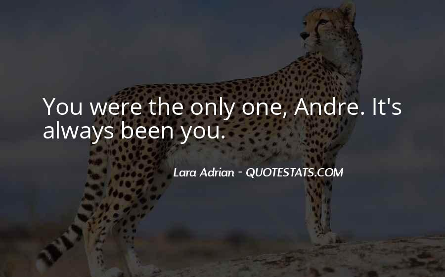 Always Only You Quotes #93222