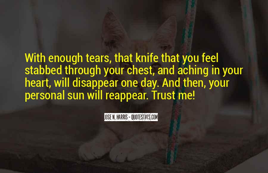 Quotes About My Heart Aching #273120