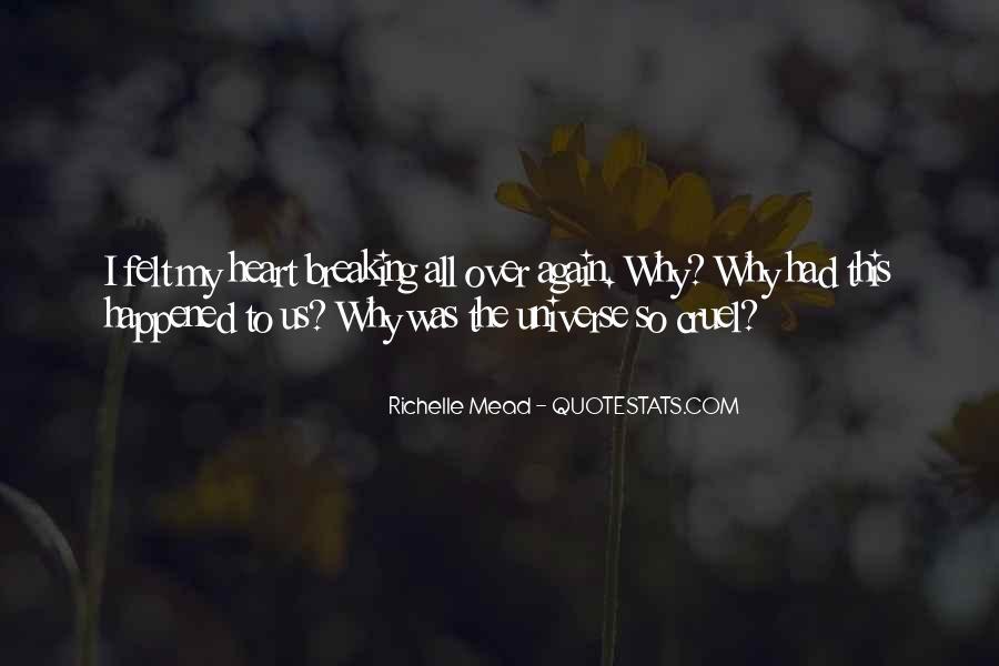 Heart breaking my quotes is 45 Broken