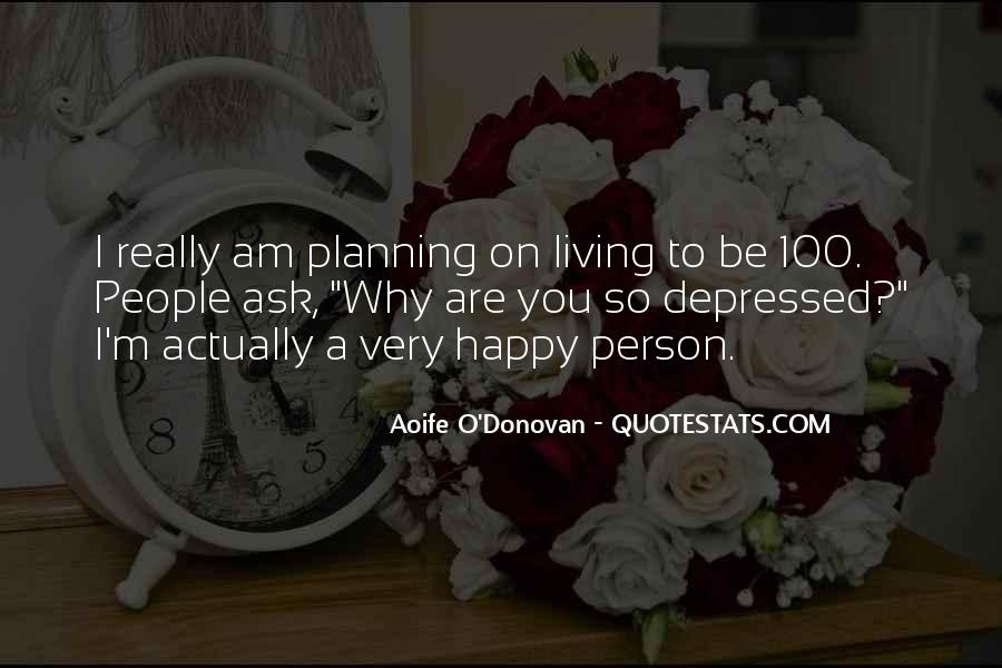 Am A Happy Person Quotes #104371
