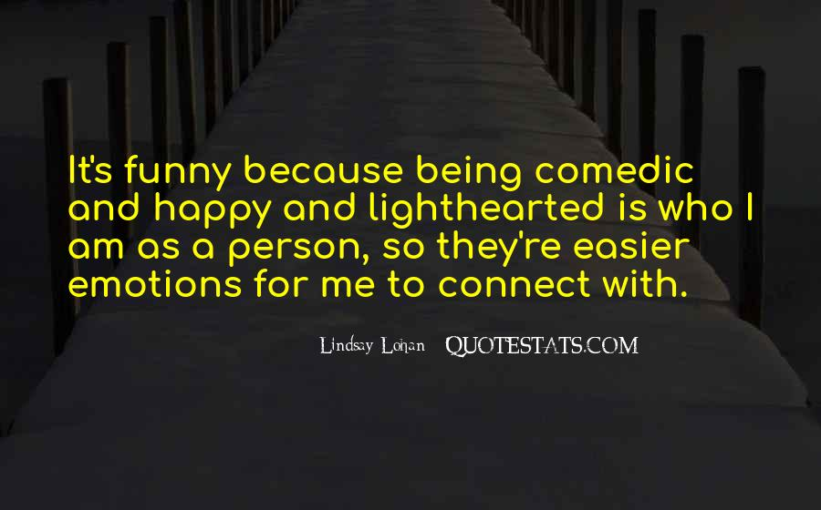 Am A Happy Person Quotes #1086304