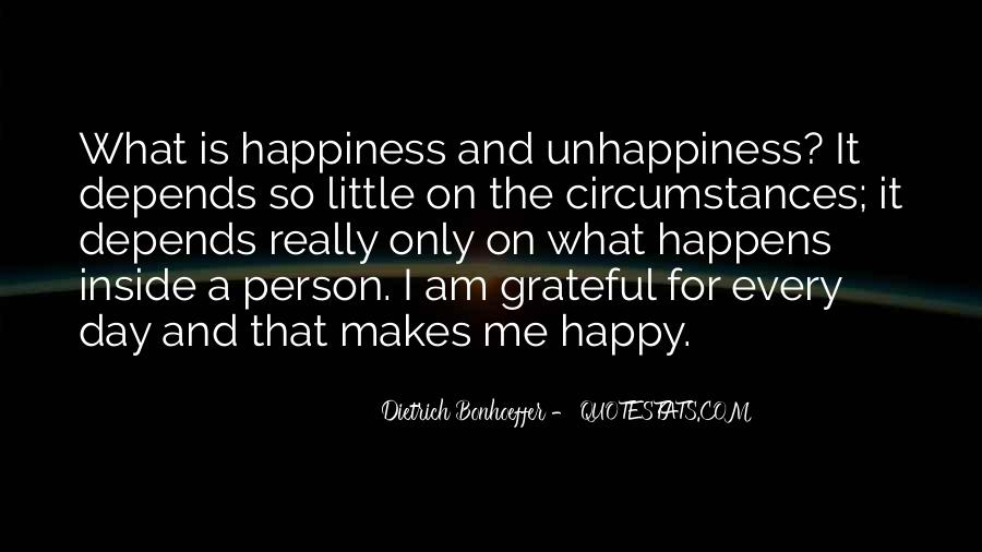 Am A Happy Person Quotes #1445927