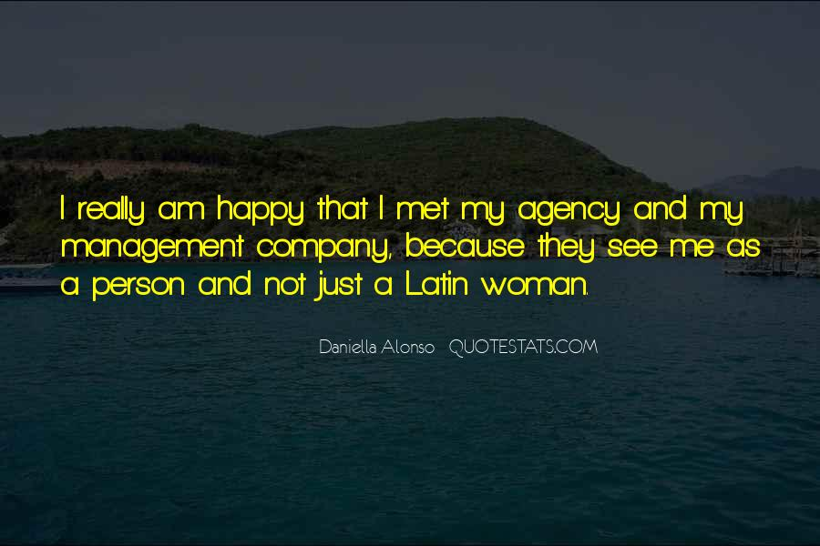 Am A Happy Person Quotes #1719308