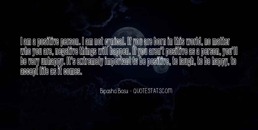 Am A Happy Person Quotes #1868209