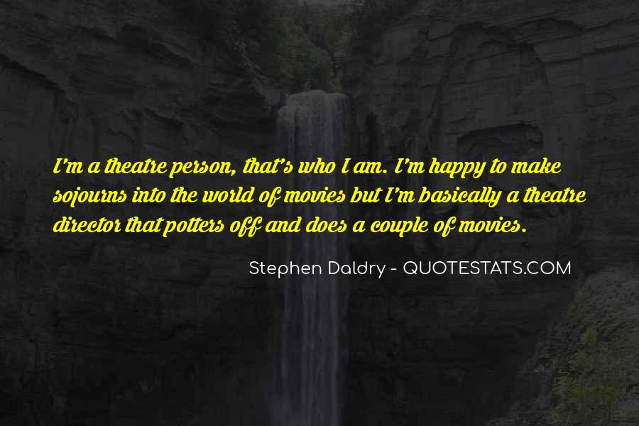 Am A Happy Person Quotes #400260
