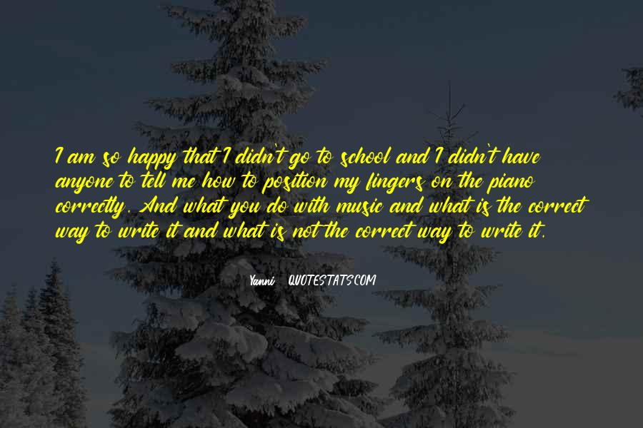 Am Happy With You Quotes #1779588