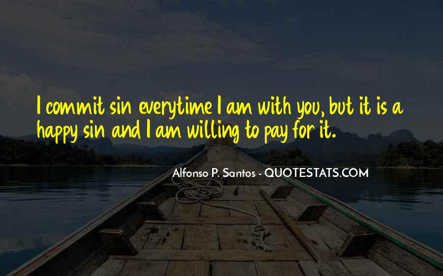 Am Happy With You Quotes #477890