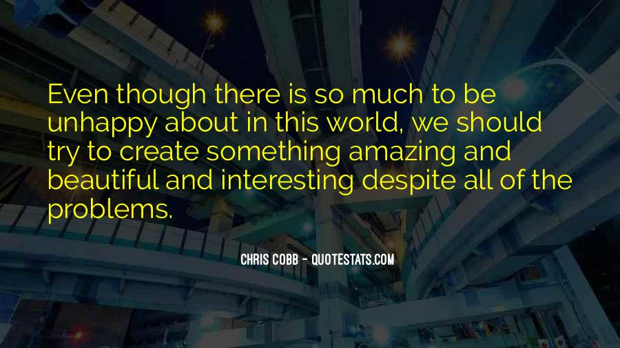 Amazing Out Of This World Quotes #103129