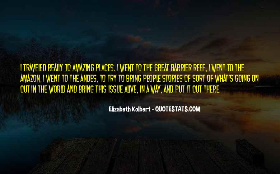 Amazing Out Of This World Quotes #1854249