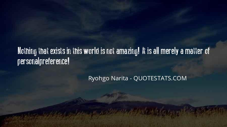 Amazing Out Of This World Quotes #81762