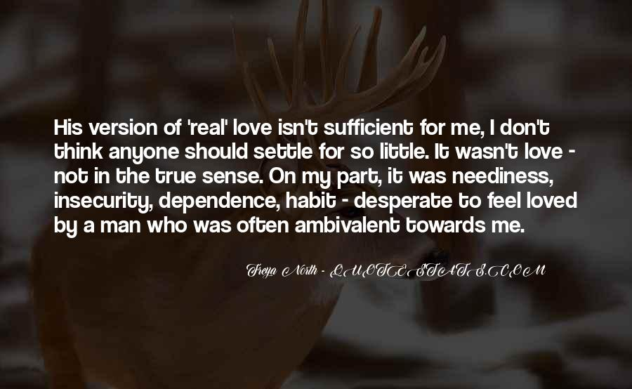 Ambivalent Love Quotes #1011080