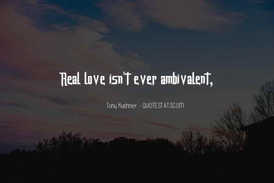 Ambivalent Love Quotes #1781208