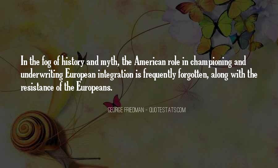 American And European Quotes #1019172
