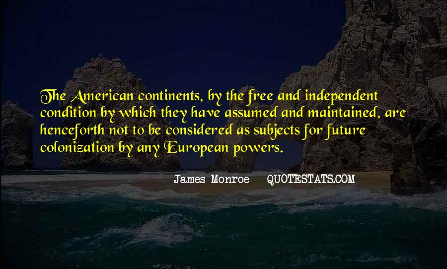 American And European Quotes #1257001