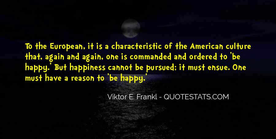 American And European Quotes #1291489